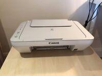 Printer - Canon Pixma Mg2450 All-in-One Printer - white/grey