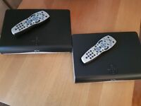 Sky HD boxes and router for sale