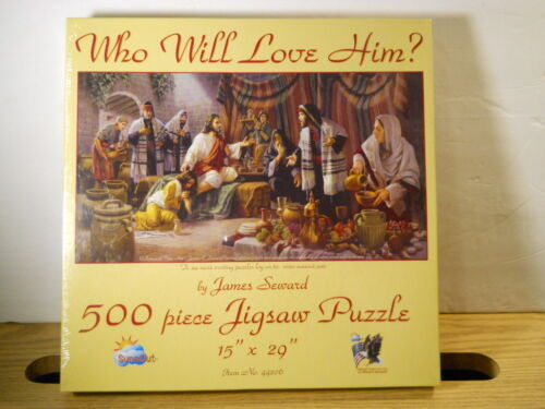 Factory Sealed SunsOut #44206 Jigsaw Puzzle WHO WILL LOVE HIM? James Seward