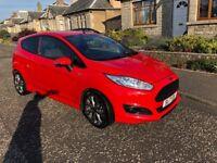 Ford Fiesta ST 1 litre Ecoboost, 3 door, Red