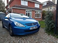 Peugeot 307 cc Convertible ready to use. MOT until July.