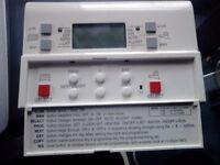 Danfos Central heating and hot water programmer and honeywell room thermostat
