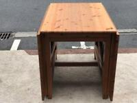 Drop Leaf Dining Table (@07752751518)