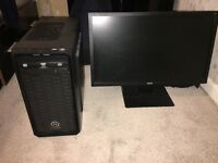 Full Gaming PC with Monitor,Keyboard and Mouse