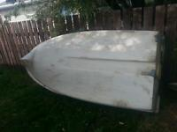 10 foot boat, 2 troaling motors, & battery $800 OBO