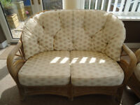 Conservatory Suite (wicker 3 piece) Excellent Condition