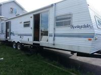 2004 SPRINGDALE XL 37FT PARK MODEL16FOOT SILDE OUT TWO BED ROOMS