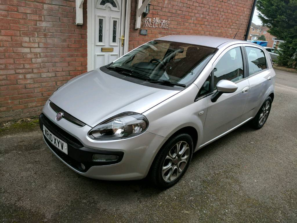 fiat punto evo 2010 silver 12 month mot in cardiff gumtree. Black Bedroom Furniture Sets. Home Design Ideas