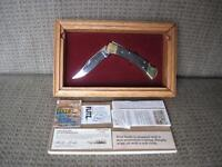 Buck Knife Ducks Unlimited limited edition