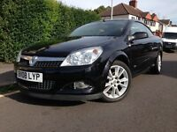 2008 VAUXHALL ASTRA TWIN TOP SPORT CONVERTIBLE 1.6L - extra low mileage 41k, MANUAL
