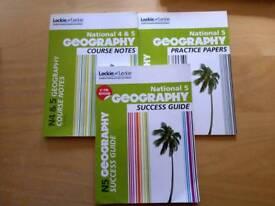 Nat5 Geography Study Books