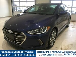 2018 Hyundai Elantra GLS FWD - LEATHER, HEATED SEATS/WHEEL