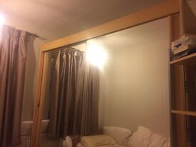 Mirrored wardrobe doors