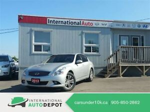 2012 Infiniti G25X LUXURY | BACK-UP CAM | LEATHER | MOONROOF