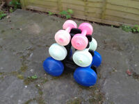 Dumbbell Tree Set FREE LOCAL DELIVERY