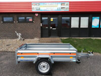 Brand New Single axle trailer 6,56ft x 3,48ft 750kg gross TEMARED ECO Trailer