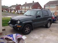 Jeep Cherokee 2003 V6 2.7 petrol/SWAP CONSIDERED