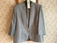 Silvery grey JACQUES VERT JACKET 16-18