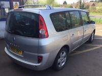 Automatic Renault Espace 2.2 Diesel—11 months mot,ac,cd,alloys,suede leather,excellent runner,clean.