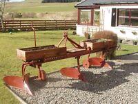 2 x Authentic Ornamental Plough Garden Planters