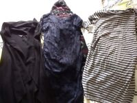 Maternity bundle good condition includes dresses and two long waistcoats and coat £50 Ono for lot