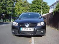 Volkswagen Golf 2.0 GT TDI-FSH, Leather, Sat Nav & Long MOT.