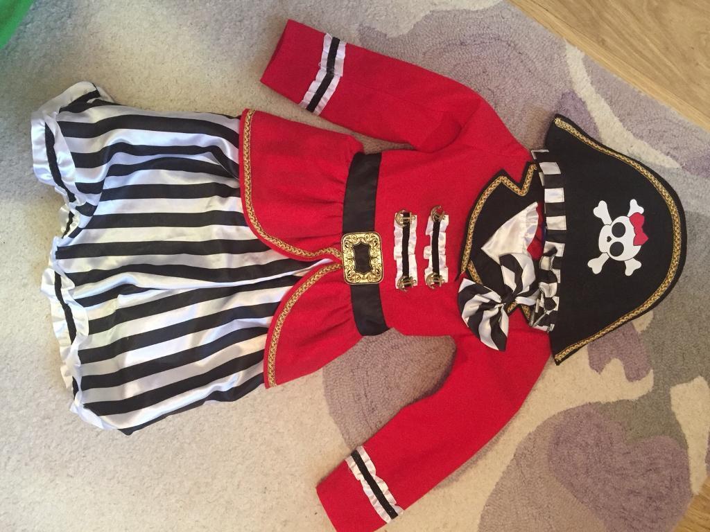 Girls pirate dress