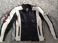 Hein Gericke leather jacket. Size 54 (Large/XL)