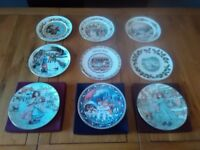 Christmas Plate Collection. Doulton. Worcester. Aynsley