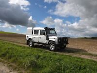 Land Rover Defender 110 2.5 TD5 Silver Double Cab 4dr *Limited Edition*