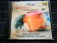 Cincinnati Sym Orc/Lopez-Cobos - Georges Bizet: Carmen Suite/Symphony like new CD