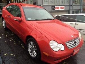 2004 Mercedes C-230 Coupe- CERTIFIED-EASY APPROVALS-LOW PAYMENTS