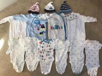 Newborn baby clothes bundle - 29 items for £29