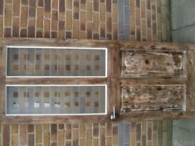used glazed internal door