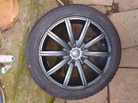 """18"""" ; alloy wheels"""