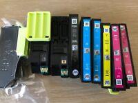 Genuine Epson Ink Cartridges for use in an Epson inkjet printer