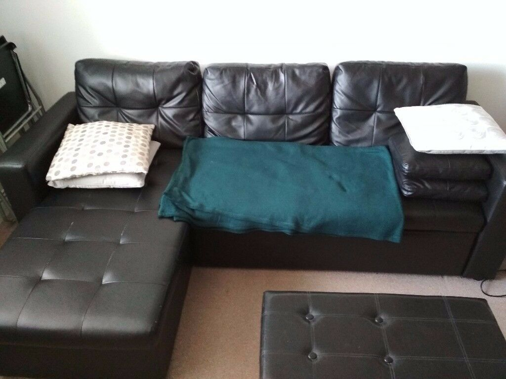 Corner Sofa Bed With Storage In Warrington Cheshire