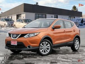 2018 Nissan Qashqai SV,ECO,AWD,REMOTE START,REARVIEW CAM,PWR S/R