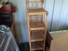 Wicker style cabinet