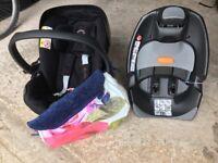 Cybex Platinum Car seat and Q fix base