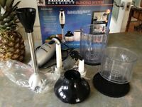Ainsley Harriett Professional blending system. Good condition full working order. In original boxing