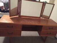 Retro G Plan dressing table