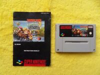 DONKEY KONG COUNTRY 3 dixie kong's double trouble - snes / super nintendo