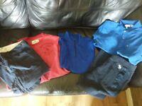 Boys designer clothes bundle - Lacoste, Abercrombie, Ralph Lauren