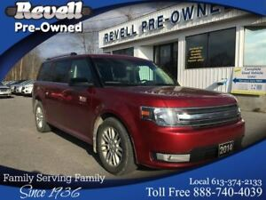2014 Ford Flex SEL AWD  *Moonroof, Heated leather