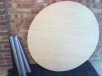 dining table 120cms