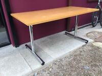 Oak folding canteen, conference, boardroom table