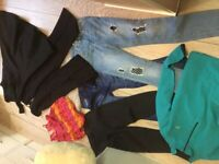Bundle of girls clothes 11-12 year