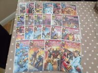 Transformers Regeneration One, Issues 80.5 to 100, All A Covers