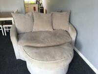 2 seater cuddle sofas